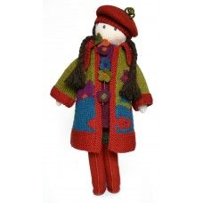 Knitted doll kits – Dee, the textile artist