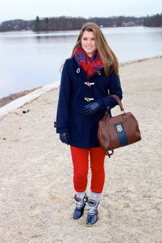 cute winter outfit on The Sol Compass