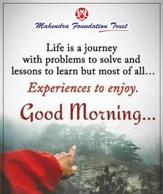 Good Morning!!!  #GoodMorning #MorningQuotes #PositiveThoughts #WednesdayWisdom  Do like and share our Facebook Page. Morning Greetings Quotes, Good Morning Quotes, Morning Sayings, Good Life Quotes, Life Is Good, Positive Thoughts, Deep Thoughts, Grandma Quotes, Morning Thoughts