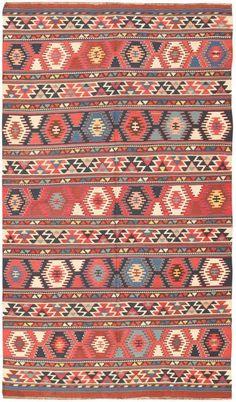 Antique Caucasian Kilim 47220 Main Image - By Nazmiyal Main Image, Protection Symbols, Old Symbols, Cost Of Carpet, Morrocan Rug, Rustic Rugs, Wide Stripes, Modern Carpet, Living Room Carpet