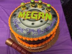 Thank you for sharing this Buehler's TMNT Birthday cake on Twitter! :-) Bakery Cakes, Tmnt, Cake Decorating, Birthday Cake, Baking, Twitter, Party, Desserts, Food