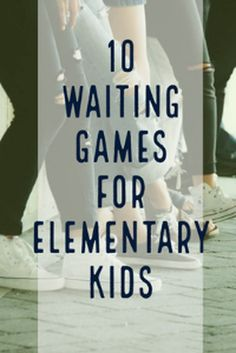 10 fun line waiting games for after school programs. These games get kids engaged and helps manage behaviors while waiting. Games For Kids Classroom, Group Games For Kids, Class Games, Fun Games, Icebreaker Games For Kids, Sunday School Games, School Age Activities, Beginning Of School, School Age Games