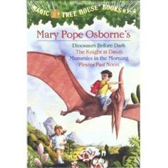 Magic Tree House, Books 1-4: Dinosaurs Before Dark/The Knight at Dawn/Mummies in the Morning/Pirates Past Noon - Walmart.com