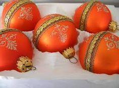 Image result for orange xmas theme