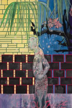 #Peter Doig - House of Flowers