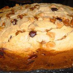 Peanut Butter and Chocolate Chip Banana Bread (Bread Machine Recipe) recipe | BigOven