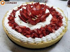 #Τάρτα #φράουλα του καλοκαιριού! #συνταγές #φράουλες #recipes #strawberry #strawberrypie