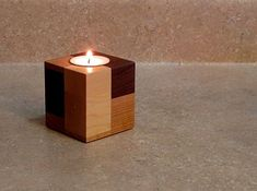 21 23 Stunning Wooden Candle Holders and Candle Holder Centerpiece Detailed Guide homesthetics decor Candle Lamp, Candle Stand, Tea Light Candles, Tea Lights, Candleholders, Candlesticks, Tea Candle Holders, Wooden Candle Holders, Candlestick Holders