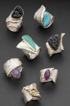 *** Amazing discounts on fine jewelry at http://jewelrydealsnow.com/?a=jewelry_deals *** ☮ American Hippie Bohéme Boho Style Jewelry ☮ Rings