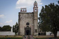 Ex convento franciscano. Tochimilco, Puebla, México