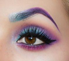 Colored Brow & Eye Makeup Tutorial - Makeup Geek