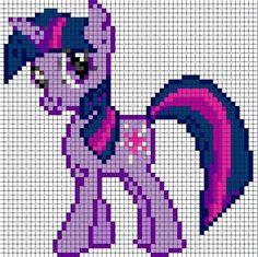 Free my little pony cross stitch   Twilight Sparkle Sprite by ~Bobbeyjazz on deviantART