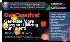 Web Graphic Ad for PromoSoft - San Jose, CA.