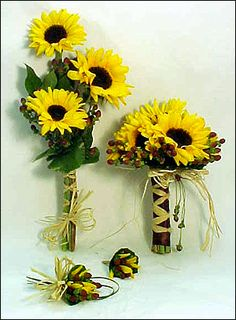 Sunflower Wedding Decorations | ... Creations Wedding and Event Planning: Sunflower Themed Weddings