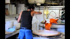 Cheese making in the