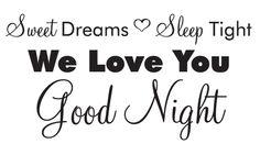 Good Night Love You Friend