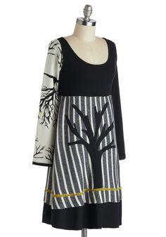 Autumn Silhouettes Dress [ModCloth.com]