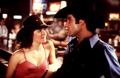 "John Travolta and Debra Winger in ""Urban Cowboy"""