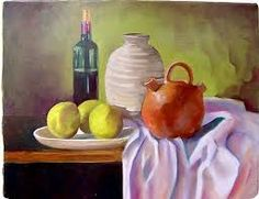 Imagen relacionada Still Life Photography, Centerpieces, Watercolor, Drawings, Painting, Fruit Painting, Wine Bottles, Painted Canvas, Paintings
