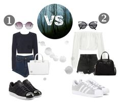"""""""??"""" by suhfranco ❤ liked on Polyvore featuring Elizabeth and James, Alexander Wang, WithChic, DKNY, adidas, adidas Originals, Monki, Furla, Michael Kors and men's fashion"""