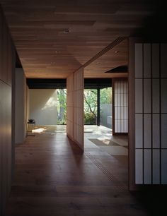 koji hatano architects / residence h, kanagawa prefecture 秦野浩司建築設計事務所 H邸の実績写真 Asian Interior, Japanese Interior Design, Japanese Design, Interior And Exterior, Japanese Style, Architecture Du Japon, Sustainable Architecture, Interior Architecture, Modern Japanese Architecture