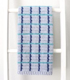 Hello, Hannah here, I made another version of a windowpane blanket, this time using three colors instead of two! If& The post Crochet Three Color Windowpane Baby Blanket appeared first on Daisy Farm Crafts. Modern Crochet Patterns, Crochet Patterns For Beginners, Baby Patterns, Beginner Crochet, Crochet Ideas, Crochet Baby Blanket Free Pattern, Crochet Blankets, Crochet Afghans, Baby Blankets