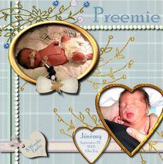 Preemie   Digital Scrapbooking at Scrapbook Flair