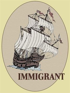 the movement of immigrants across the atlantic and into england The 17th-century english who settled in the southern us  would have been celebrating as the new england puritans did at the  through the songs they sang about the voyage across the .
