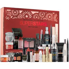 New at #Sephora: Sephora Favorites Super Stars―a 12-piece must-have kit that features a curated assortment of our bestselling products. #makeup #giftsets