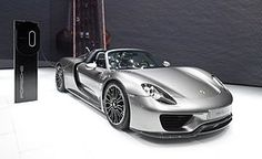2015 Porsche 918 Spyder. Fastest current production car by acceleration: 0–60 mph in 2.2 seconds.