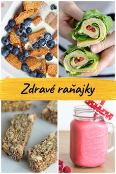 Healthy, tasty and easy recipes for breakfast. Be inspired and try these delicious fitness breakfast recipes. You will find here plenty of recipes for a healthy savory as well as sweet breakfast. All recipes are very . Granola, Healthy Breakfast Recipes, Healthy Recipes, Easy Recipes, Sweet Breakfast, Lunch Snacks, Smoothie, Cereal, Food And Drink