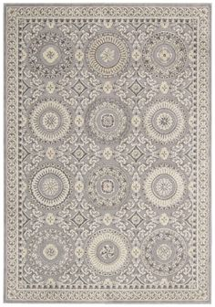 Nourison Rugs KI05 Villa Retreat KI502 Slate
