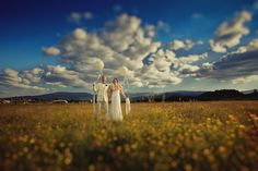 Early summer and the little yellow flowers! www.weddingpoland.com