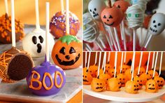 Halloween decor - cakepops