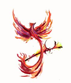 final tat design by rainingcrow on DeviantArt - phoenix tattoo Watercolor Phoenix Tattoo, Phoenix Painting, Phoenix Artwork, Phoenix Drawing, Phoenix Tattoo Feminine, Phoenix Bird Tattoos, Phoenix Tattoo Design, Men Flower Tattoo, Leg Sleeve Tattoo
