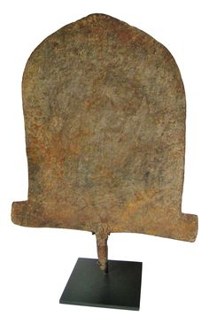 Vintage Tribal Ethnic Iron Sculptural Object