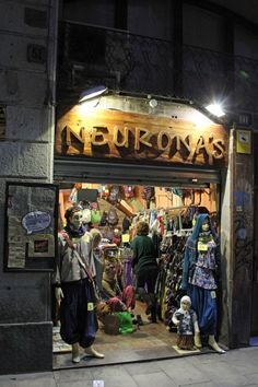 Comercios en Barcelona, abril 2014