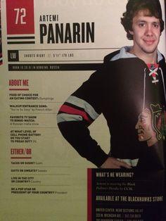 "blackhawks72: ""Artemi Panarins walkup song choice  """