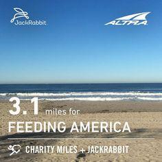 @charitymiles  @feedingamerica  @feedingsandiego #charitymiles #everymilematters #missionbeach #sandiego #beachday #beachit #california #jan282018