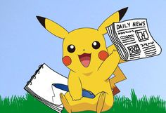 Pokemon Go Picachu writing news
