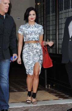 Demi in New York City. #SafehouseRecords