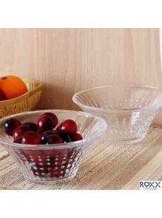 Buy Roxx Vegas Glass Bowl 2pc-527057 online at happyroar.com