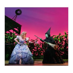 InterpretedPortlandshows ❤ liked on Polyvore featuring wicked, elphaba, glinda and people