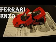 Ferrari Enzo - Tamiya 1/24 scale [model build | Review] - YouTube