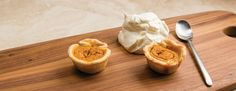 If you're looking for a simple dessert to serve at the kids table, or want a unique yet festive treat to share with friends around the holidays, this dessert is a smart choice. http://wu.to/PS03qY #pumpkinpie #desserts