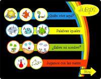 Burbuja de Lenguaje: Juegos Interactivos Animales