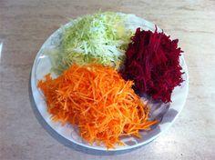 Salata pentru curatarea colonului. Coconut Flakes, Cabbage, Spices, Vegetables, Health, Ethnic Recipes, Link, Diet, Salads