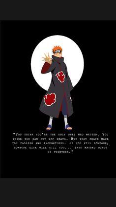 Nagato Pain quotes from Naruto