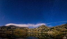 Clouds and stars over the Carpathian Mountains.  #Romania   #travel   #Transylvania   #tours   #Transilvania   #CarpathianMountains   #Carpathian   #mountains   #landscape   #landscapephotography   #night   #nightphotography   #longexposure   #fromromania   #hqsplandscape #retezat