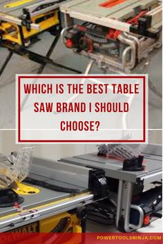 If you are searching for a table saw, then you definitely need to know a little bit about the top table saw brands that are out there.Read on! via @powertoolsninja